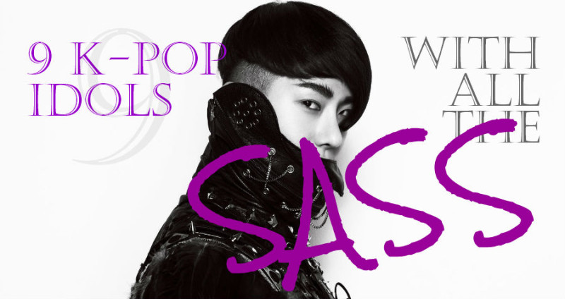 9 K-Pop Idols with All the Sass