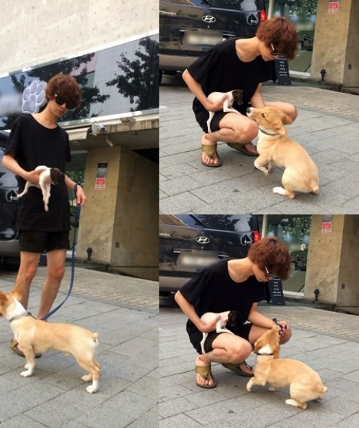 Jung Joon Young puppy