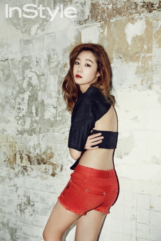 Gon Hyo Jin for InStyle