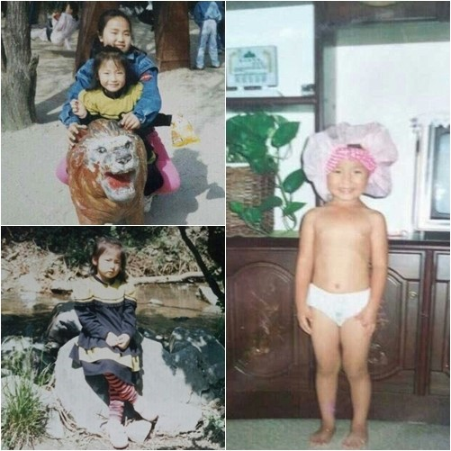 Hong Jin Young's baby pictures