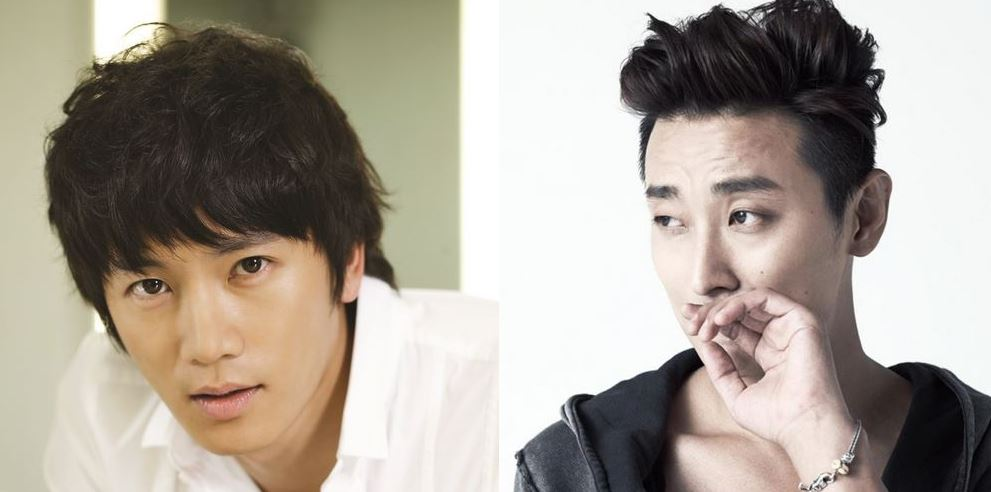 Ji Sung and Joo Ji Hoon