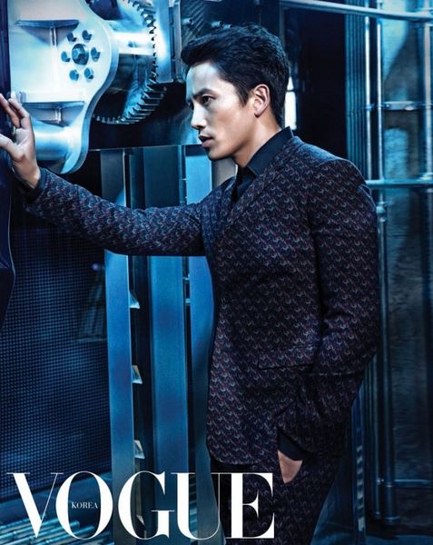 Ji Sung for Vogue