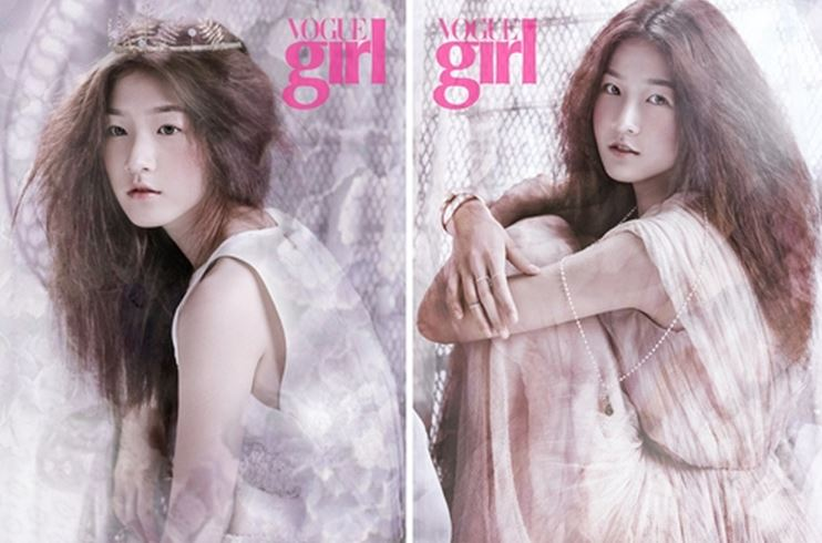Kim Sae Ron for Vogue Girl Featured Image