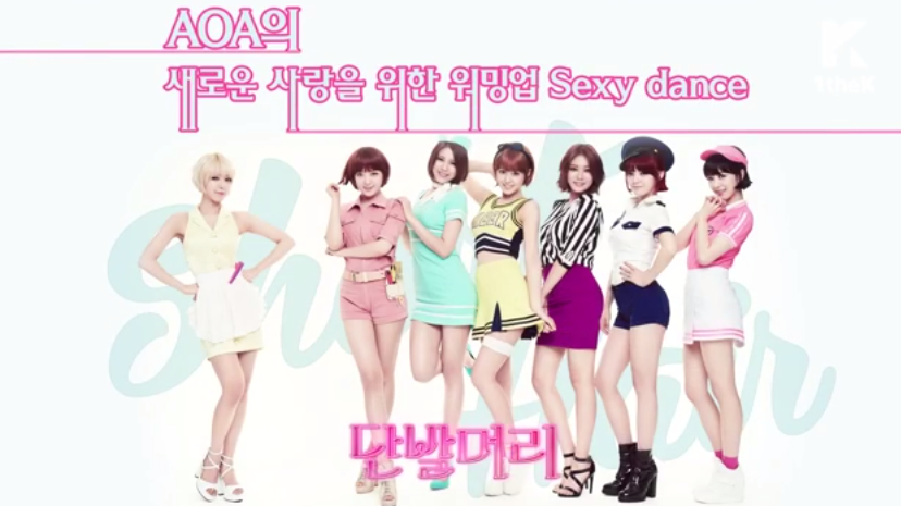 AOA Let's Dance