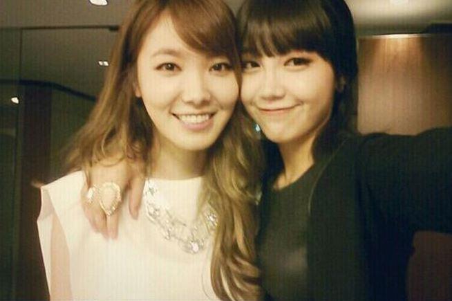 Shin Bora and Jung Eun Ji