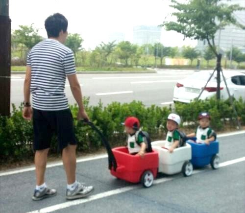 song il gook and triplets 2