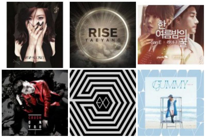 soompi Weekly K-Pop Music Chart 2014 – June Week 4