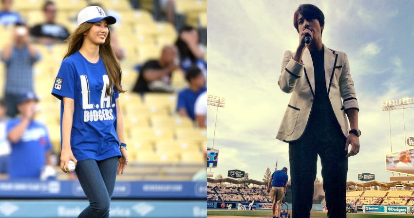 suzy jung yong hwa dodgers