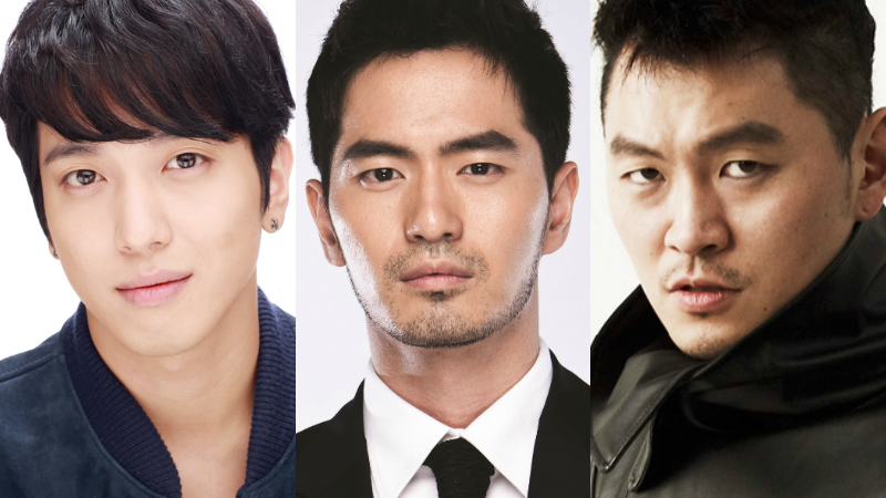 three musketeers jung yong hwa lee jin wook yang dong geun