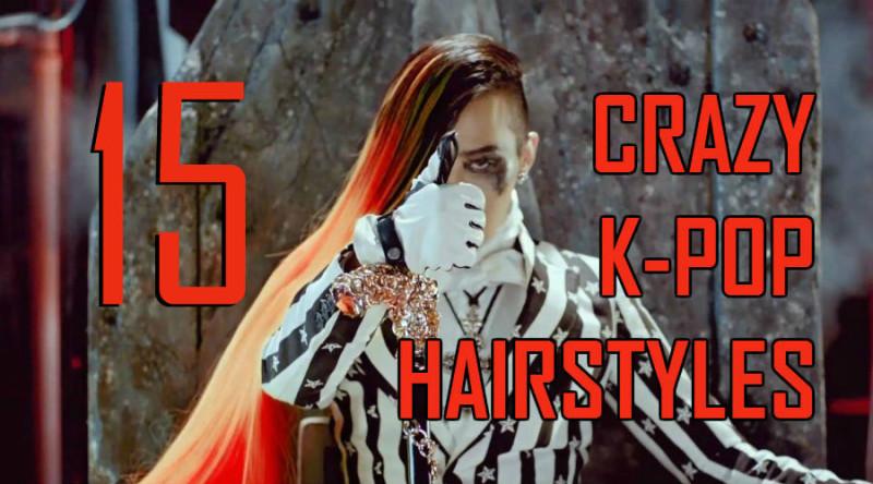 15 Crazy K-Pop Hairstyles