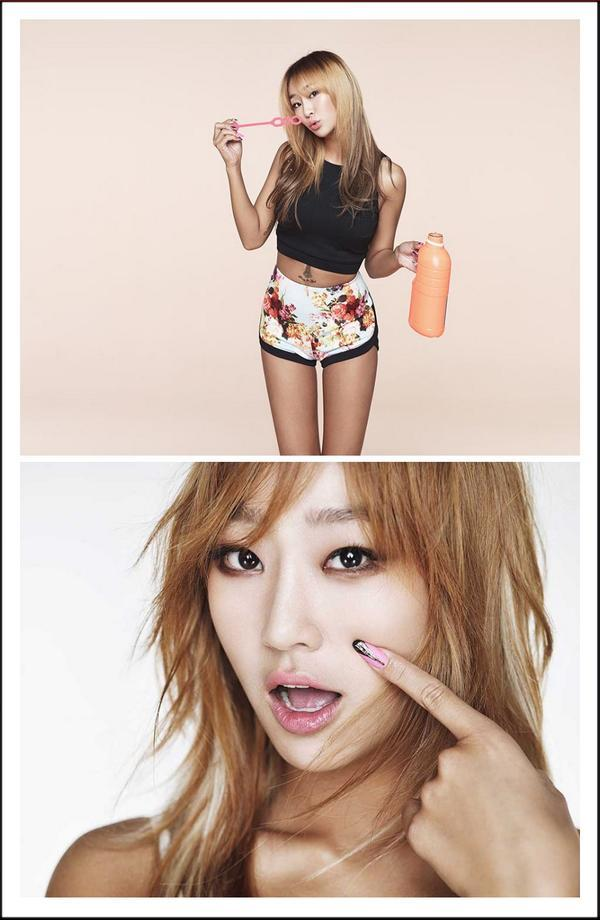 Hyorin Touch My Body