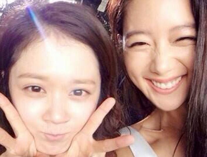 Jang Na Ra and Clara