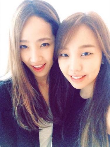 Yae Eun and Baek Ah Yeon