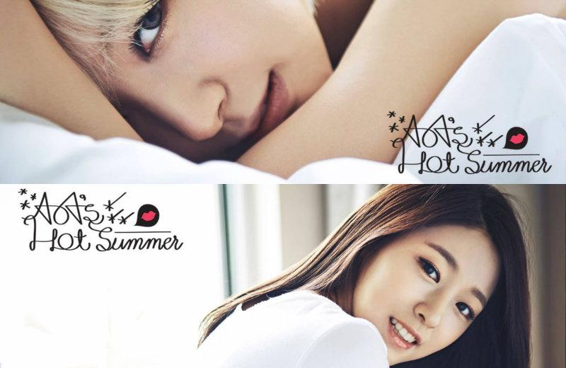 aoa hot summer seolhyun soompi choa teaser image
