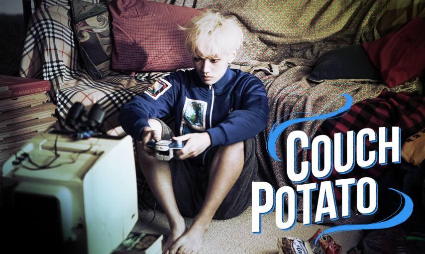 b1a4 jinyoung couch potato