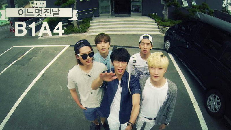 "B1A4's Leader Jinyoung Surprises Members with a Group Vacation on ""B1A4's One Fine Day"""