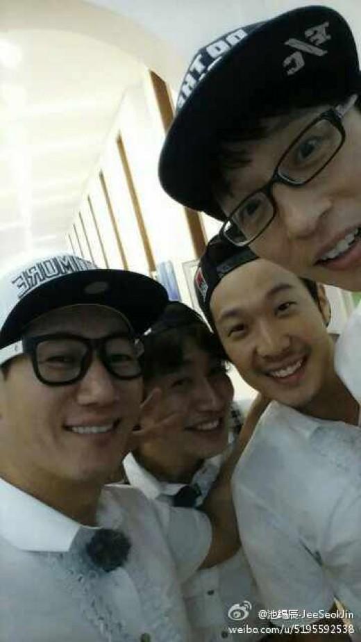 ji suk jin, lee kwang soo, haha, yoo jae suk_running man