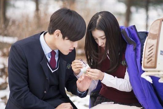kang ha neul, kim so eun_a girl ghost story