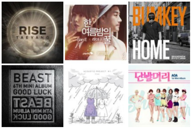 soompi Weekly K-Pop Music Chart 2014 – July Week 1