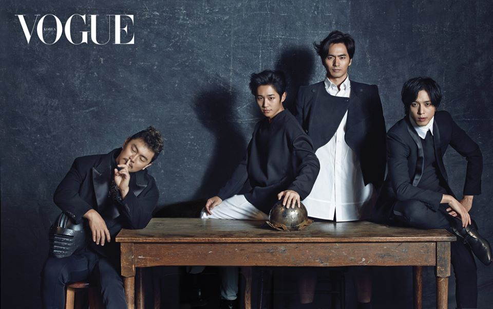 the three musketeers vogue 3