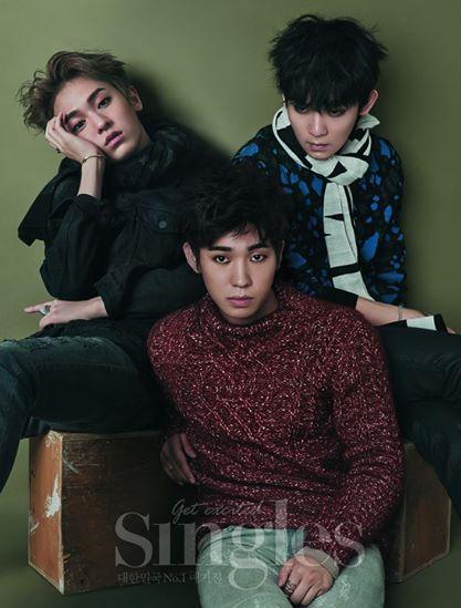 Teen Top, Singles Magazine
