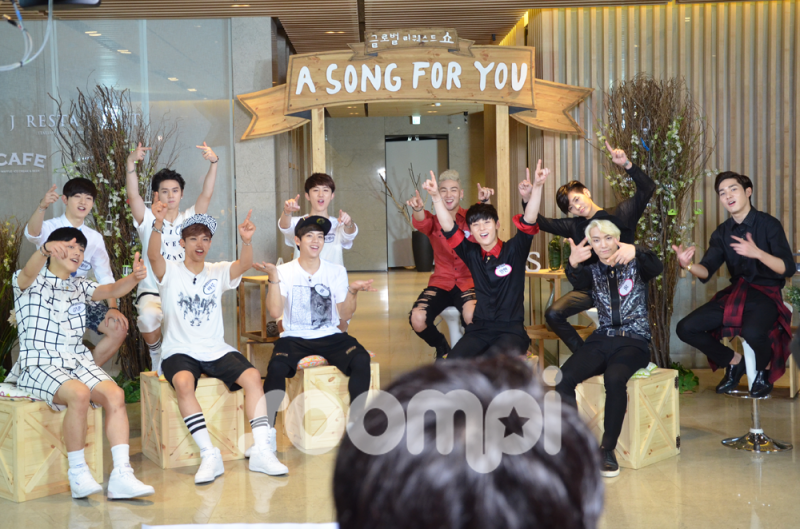 """[Exclusive] NU'EST and C-CLOWN Battle It Out on """"A Song For You"""""""