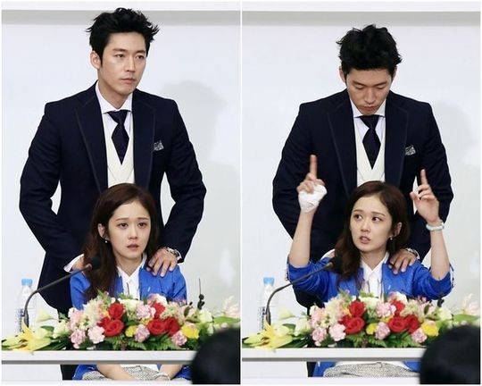 """A Behind-the-Scenes Still Cut for """"Fated to Love You ... Fated To Love You Kiss"""