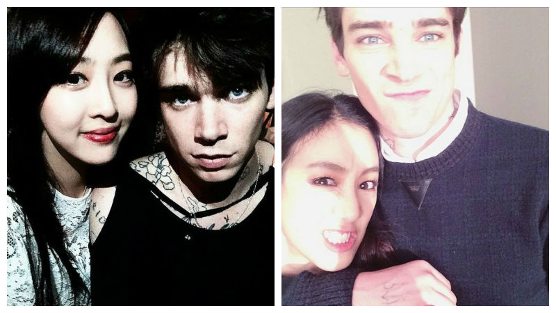 SISTAR Dasom, Cole Mohr, Jung Ryeo Won