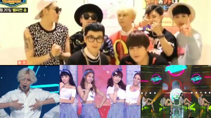 Block B, Taemin, KARA, Secret