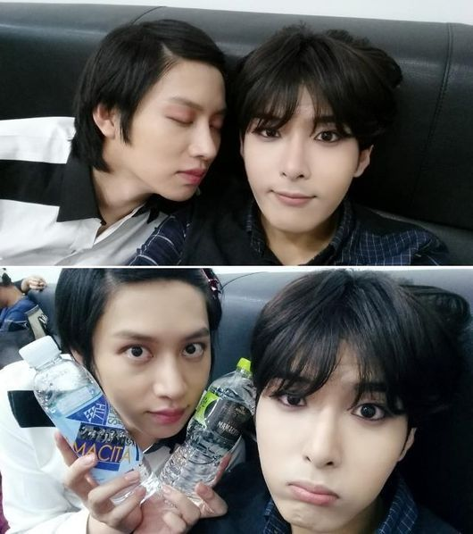 Heechul and Ryeowook