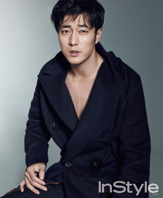 So Ji Sub for Instyle