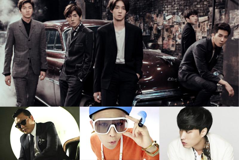 Winner_YG Artists