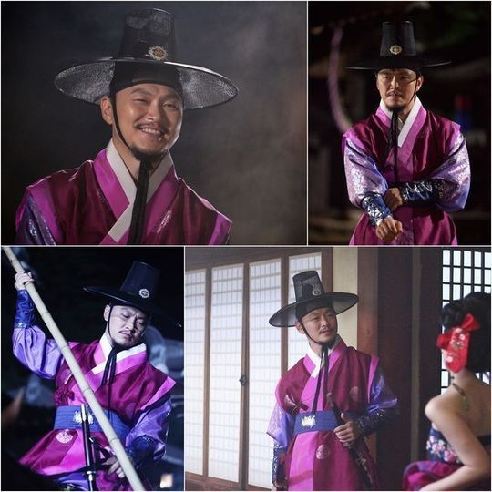 Yang Dong Geun in The Three Musketeers
