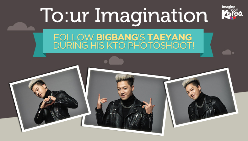 [To:ur Imagination] Unreleased Photos of BIGBANG's Taeyang from His KTO Photoshoot