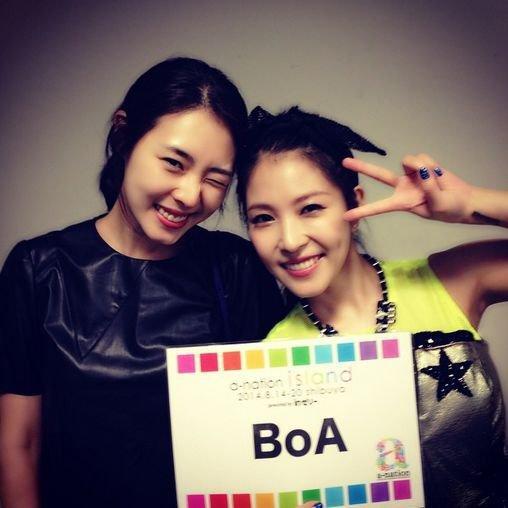 boa, lee yeon hee