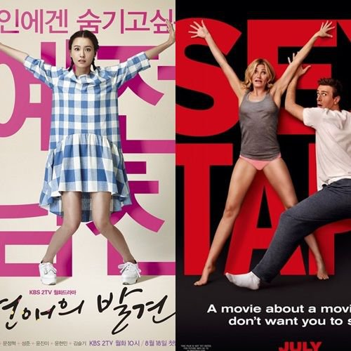 discovery of love poster sex tape