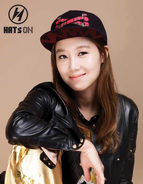 gong hyo jin hats on