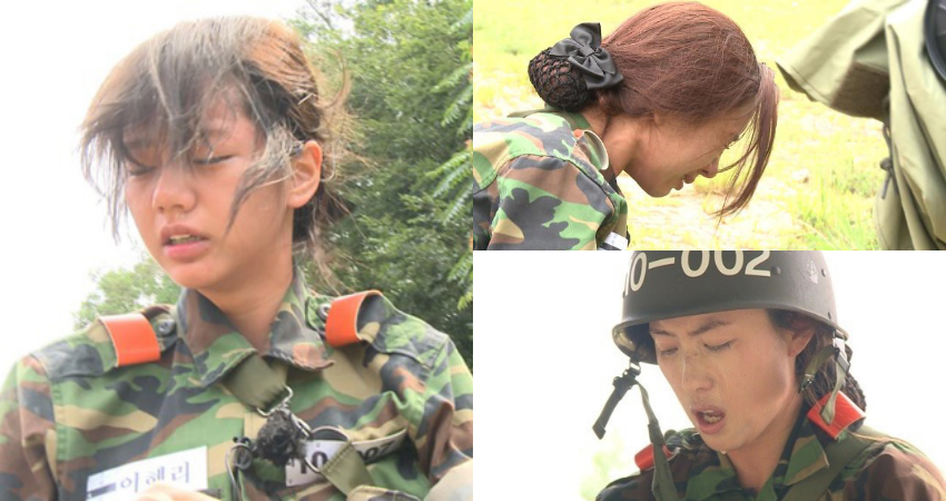 real men female soldier