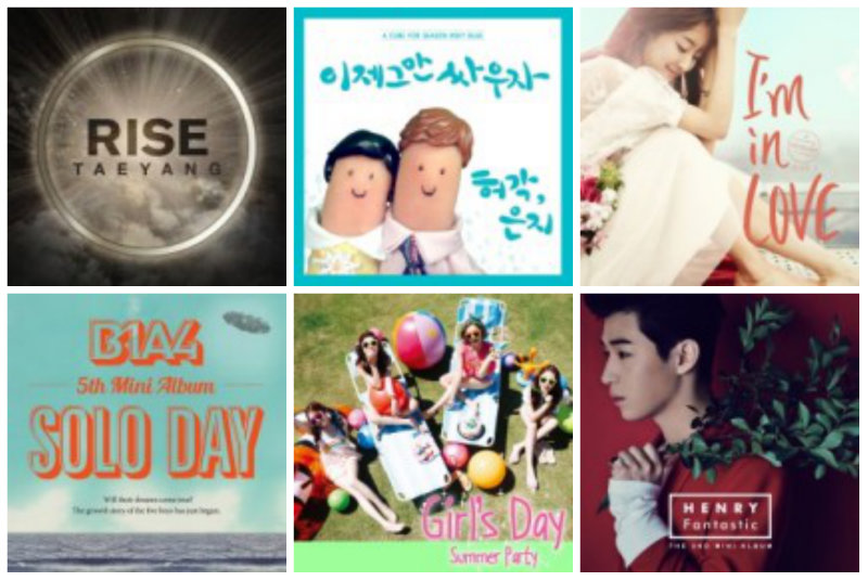 soompi Weekly K-Pop Music Chart 2014 – August Week 1