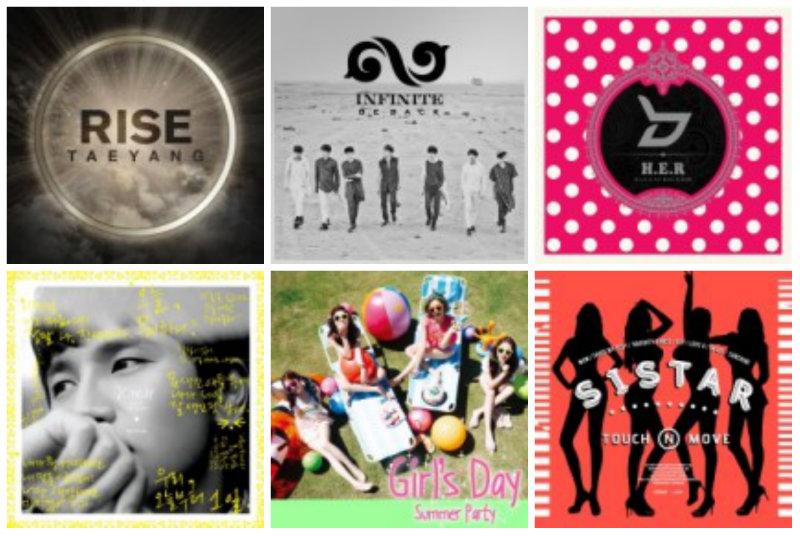 soompi Weekly K-Pop Music Chart 2014 – August Week 2