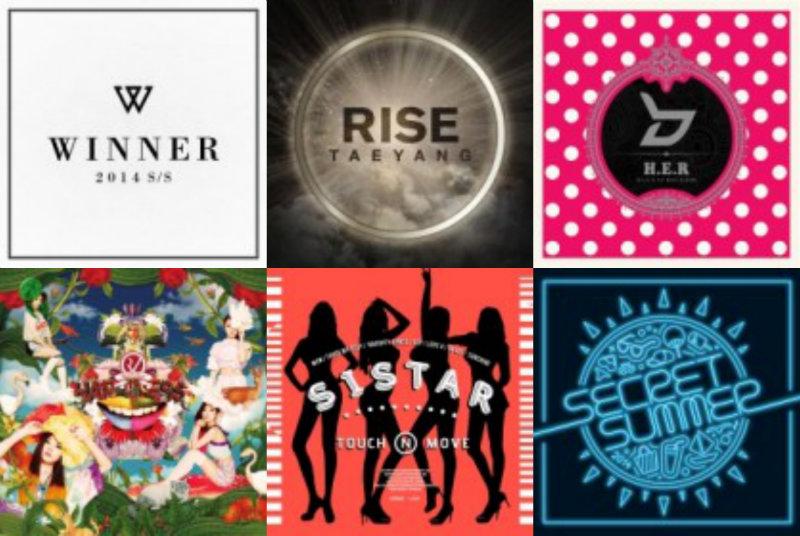 soompi Weekly K-Pop Music Chart 2014 – August Week 5