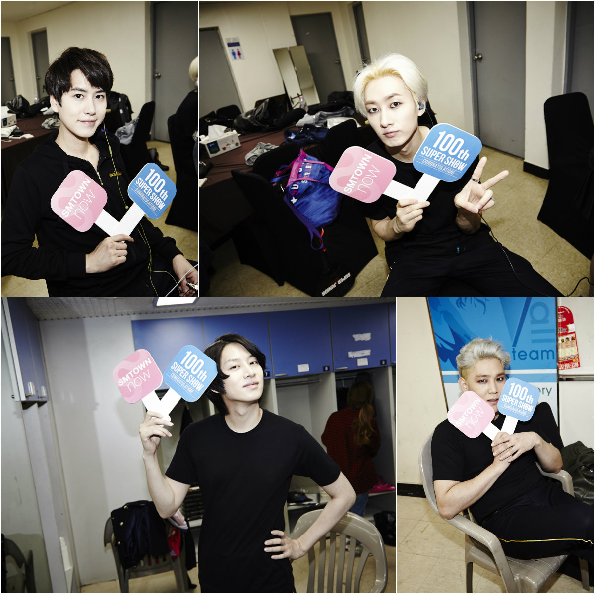 921 super junior 100th concert collage 1