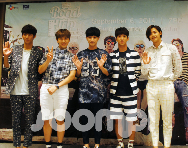 "B1A4 Marks First Visit to Manila with a ""Road Trip""!"