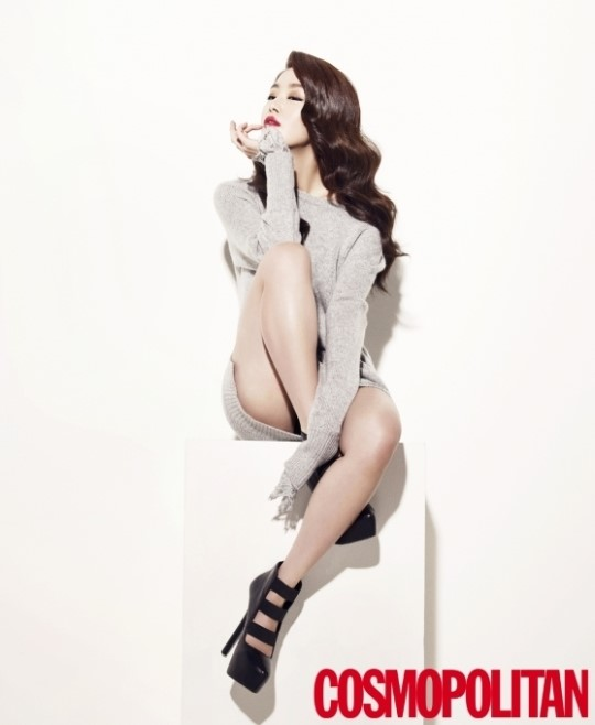 Han Sun Hwa for Cosmopolitan 2