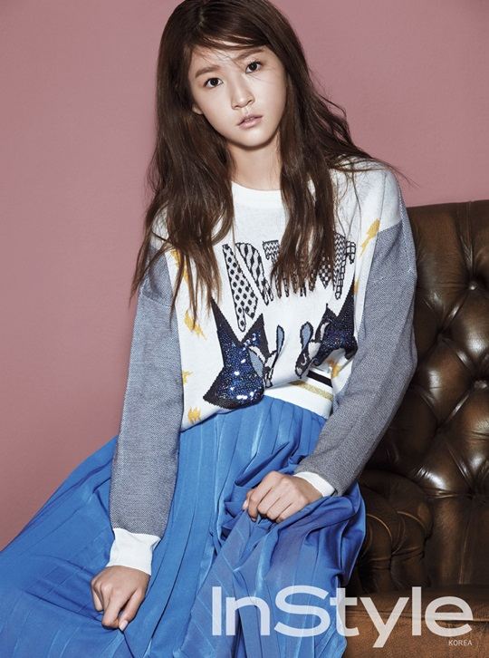 Kim Sae Ron for InStyle 3