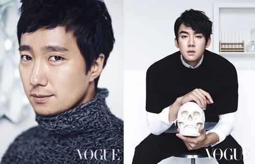 Park Hae Il and Yoo Yeon Seok