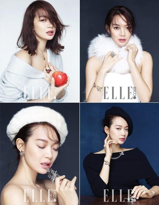 Shin Min Ah for Elle 2
