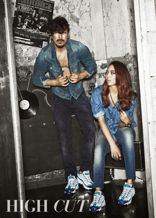 Tiger JK and Yoon Mirae for HIGH CUT