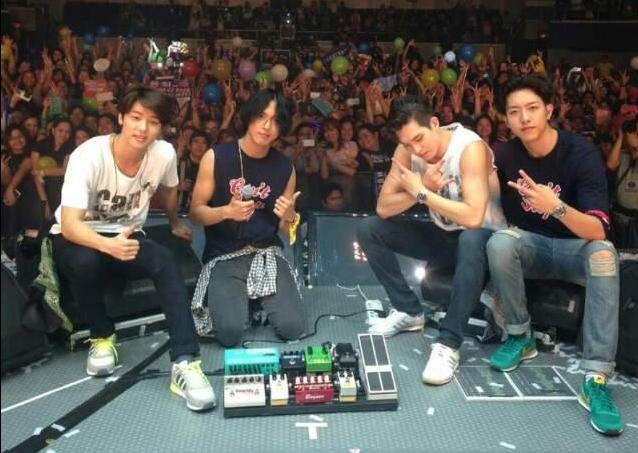 CNBLUEs Jonghyun, Minhyuk and Jungshin Connect Instagram