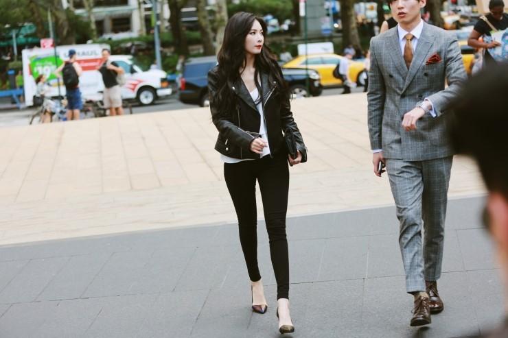 hyuna fashion week